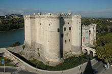 The Chateau of René in Tarascon (15th century)