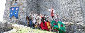Bij de franse les hoort een uitstapje naar chateau Montalet