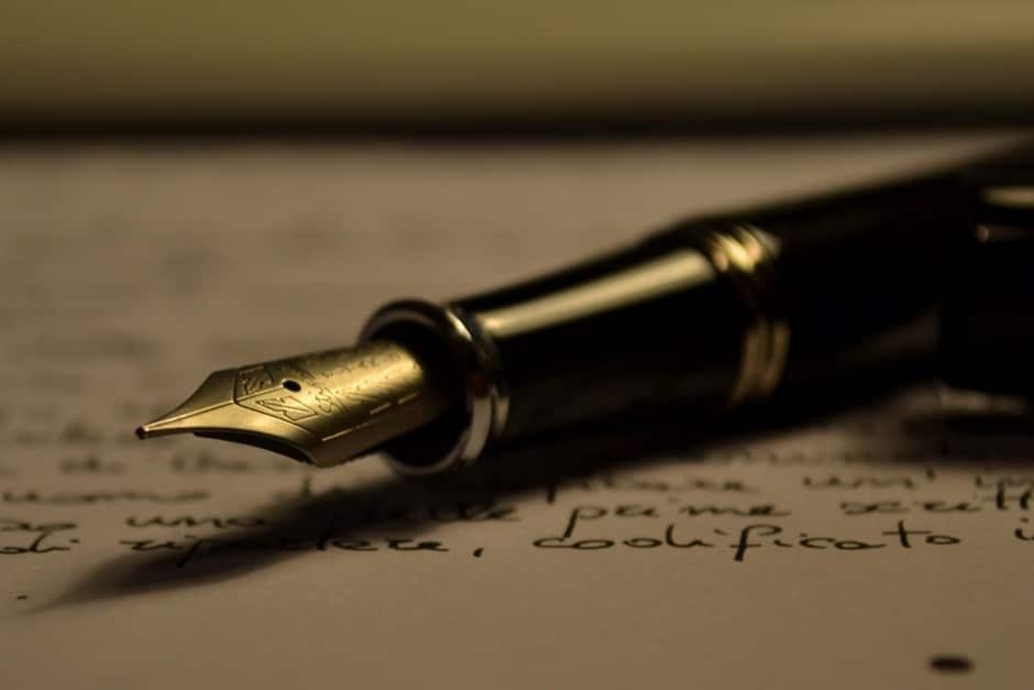 dagboek en pen gaan samen