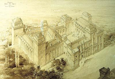 Betty Edwards leert u zo tekenen Avignon palais du papes