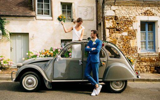 photos mariage Perche champêtre